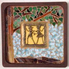 Dhokra Art And Peepal Tree