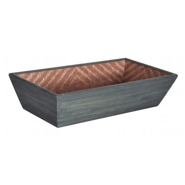 Bamboo Cereal Basket Brown
