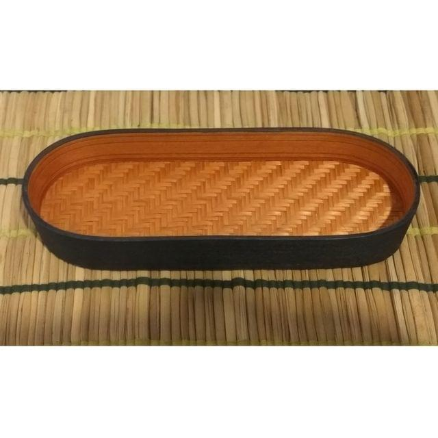 Bamboo Olive Tray Orange