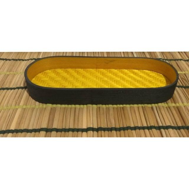 Bamboo Olive Tray Yellow