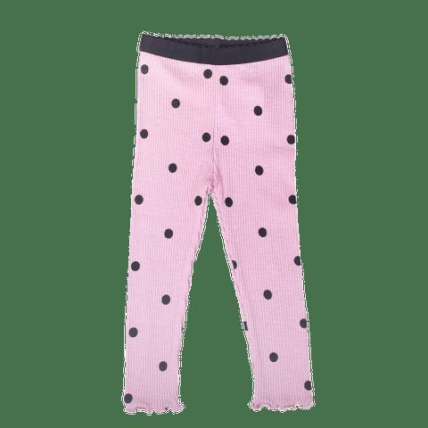 Pink Polka Dot Legging