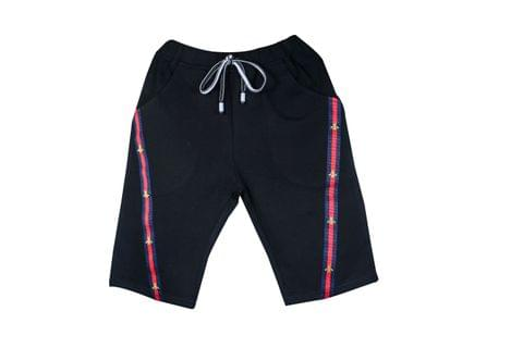 LullaBuy Red Stripe Shorts