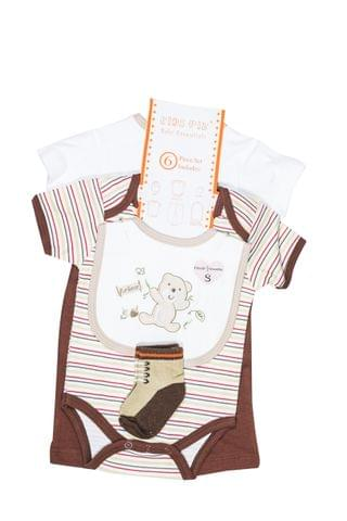 LullaBuy 6pc Bear Gift Set