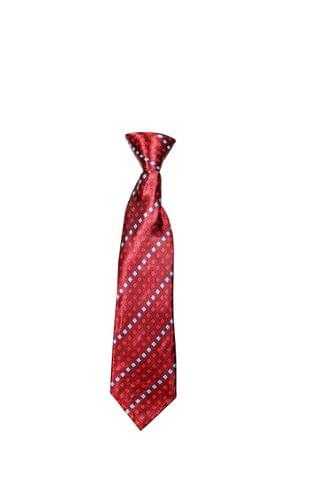 Tie - Red w/ Diamonds