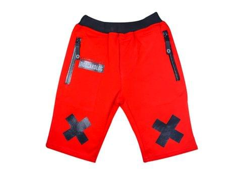 Shorts - Red w/ Zip Pocket & XX