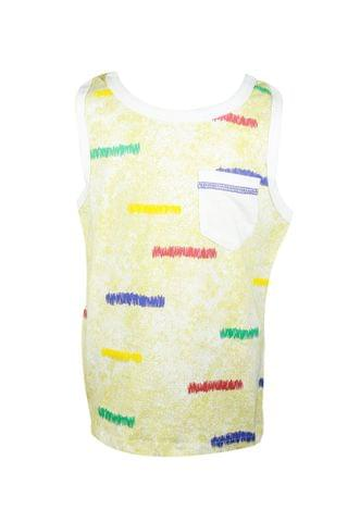 T-shirt - SL Yellow with Wriggles