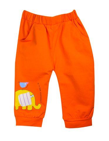 PJ - Orange w/ Elephant