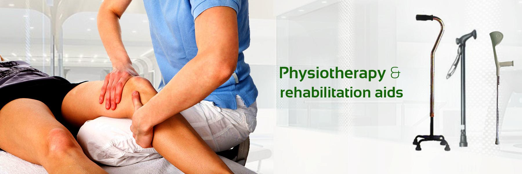 Physiotherapy and rehabilitation aids
