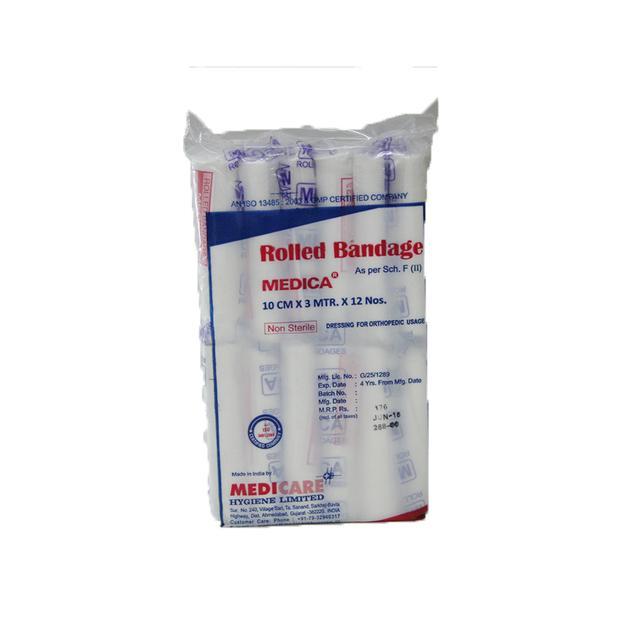 Medi Care Cotton Rolled Bandage