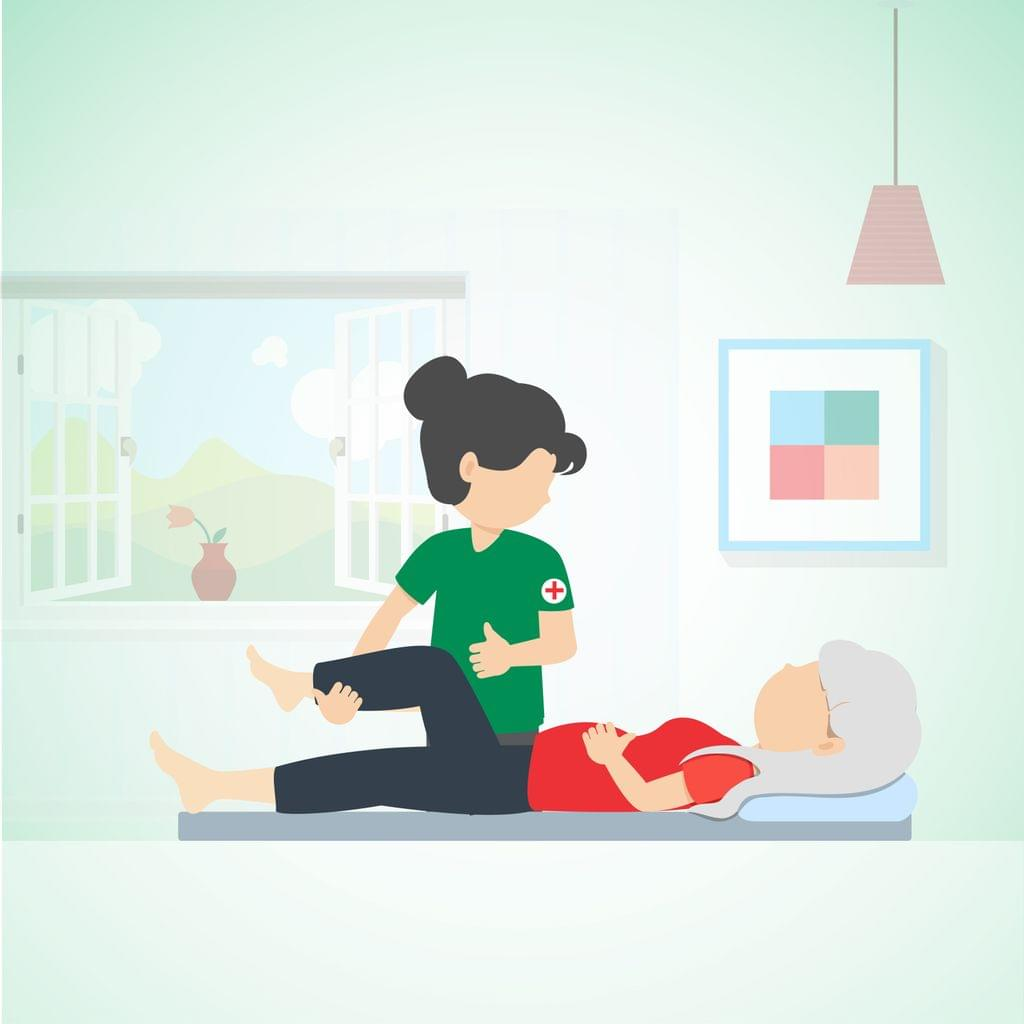 Home Visit Physiotherapy for Geriatric