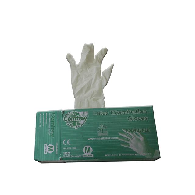 Buy Comfrey Latex Examination Gloves