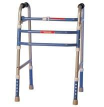 Vissco Invalid Plain Foldable & Adjustable Walker 0901