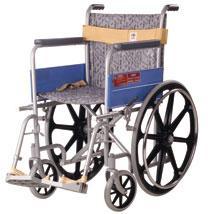 Vissco Invalid Regular Folding Wheelchair with Mag wheels  0912