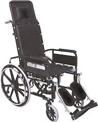Vissco Invalid Reclining Wheelchair With Elevated Foot Rest 0993
