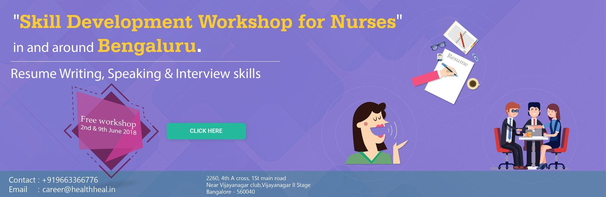 Skill Development Workshop for Nurses