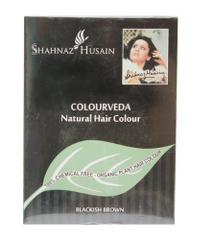 SHAHNAZ HUSAIN COLOURVEDA NATURAL HAIR COLOR Blackish Brown 100g