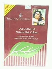 SHAHNAZ HUSAIN COLOURVEDA NATURAL HAIR COLOR Burgundy 100g
