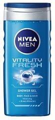 Nivea Men Vitality Fresh shower gel 250ml