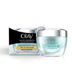 Olay White Radiance Advanced Fairness Protective Skin Cream Moisturizer SPF 24-UVA-UVB, 50g