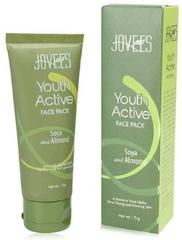 Jovees Youth Active Face Pack Soya & Almond (75g)