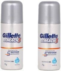 Gillette Mach3 Pre Shave Gel_140 g_70g pack of 2