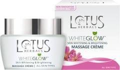 Lotus Herbals Whiteglow Skin Whitening And Brightening Massage Cream