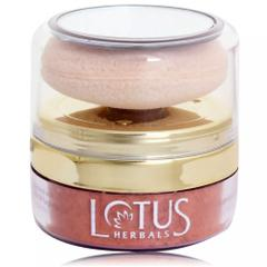 Lotus Herbals NaturalBlend Translucent Loose Powder with Auto-Puff SPF 15, 10g