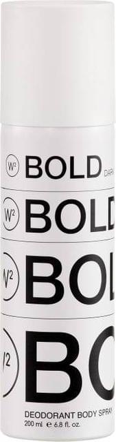 W2 Bold Dark Deodorant Body Spray