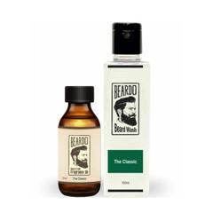 Beardo The Classic Beard Oil  (30ml)  & Beard Wash Combo