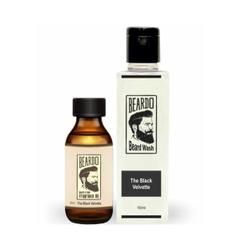Beardo The Black Velvette Beard Oil (30ml) & Beard Wash Combo