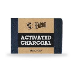 BEARDO ACTIVATED CHARCOAL Brick Soap125g