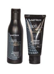 Matrix Optiblack dazzling shine Shampoo 200ml& Conditioner 98g Combo