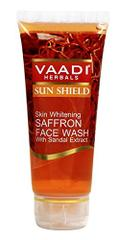 Vaadi Herbals Skin Whitening Saffron Face Wash With Sandal Extract