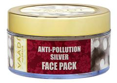 Vaadi Herbals Silver Face Pack, Pure Silver Dust and Lavender Oil, 70g