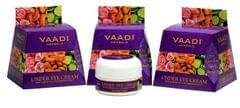 Vaadi Herbals Under Eye Cream, Almond Oil and Cucumber Extract