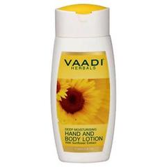 Vaadi Herbals Hand & Body Lotion With Sunflower Extract 110ML