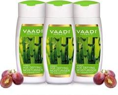 Vaadi Herbals Value Pack Of 3 Bamboo Age Defying Moisturiser With Grapeseed Extract