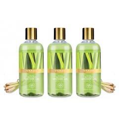 Vaadi Herbals Enticing Lemongrass Shower Gel (Pack of 3)
