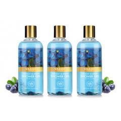 Vaadi Herbals Midnight Blueberry Shower Gel (Pack of 3)