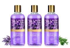 Vaadi Herbals Heavenly Lavender & Rosemary Shower Gel (Pack of 3)