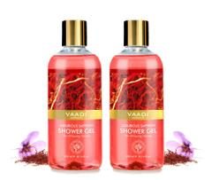 Vaadi Herbals Luxurious Saffron Shower Gel (Pack of 2)