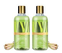 Vaadi Herbals Enticing Lemongrass Shower Gel (Pack of 2)