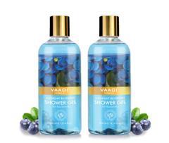 Vaadi Herbals Midnight Blueberry Shower Gel (Pack of 2)
