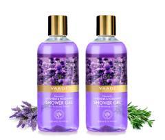 Vaadi Herbals Heavenly Lavender & Rosemary Shower Gel (Pack of 2)