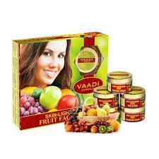Vaadi Herbals Skin Lightening Fruit Facial Kit, 270g