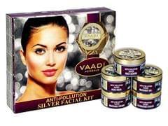 Vaadi Herbals Anti-Pollution Silver Facial Kit