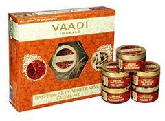 Vaadi Herbals Saffron Skin Whitening Facial With Extract Of Sandalwood 270G