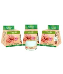 Vaadi Herbals Value Pack Of 3 Foot Cream - Clove & Sandal Oil