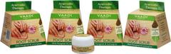 Vaadi Herbals Value Pack Of 4 Foot Scrub With Fenugreek & Lemongrass Oil