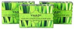 Vaadi Herbals Value Pack Of 3 Enticing Lemongrass Scrub Soap